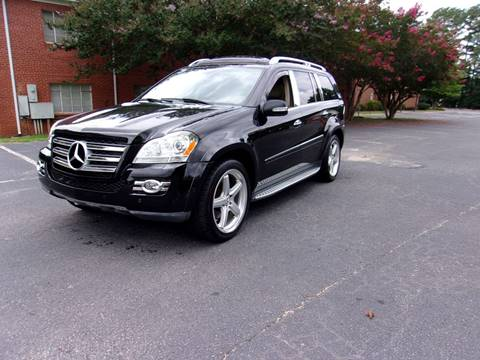 2008 Mercedes-Benz GL-Class for sale at TAR HEEL AUTO SALES OF RALEIGH in Raleigh NC