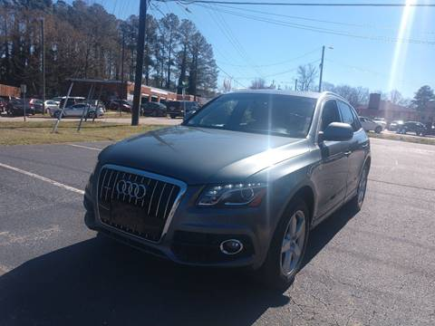 2012 Audi Q5 for sale at TAR HEEL AUTO SALES OF RALEIGH in Raleigh NC