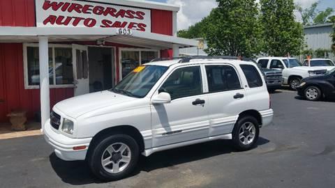 2003 Chevrolet Tracker for sale in Dothan, AL