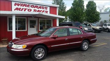 2002 Lincoln Continental for sale in Dothan, AL