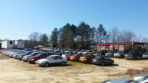 Additional inventory out back Chevy, Ford, Chrysler, ect... for sale at WIREGRASS AUTO SALES in Dothan AL
