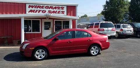 2007 Ford Fusion for sale in Dothan, AL