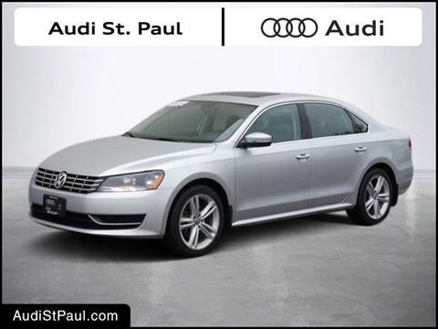 2015 Volkswagen Passat for sale in Saint Paul, MN