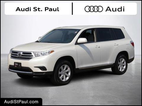 2013 Toyota Highlander for sale in Saint Paul MN
