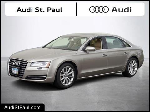 2012 Audi A8 L for sale in Saint Paul, MN