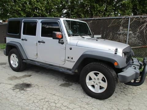 2007 Jeep Wrangler Unlimited for sale in Center Rutland, VT