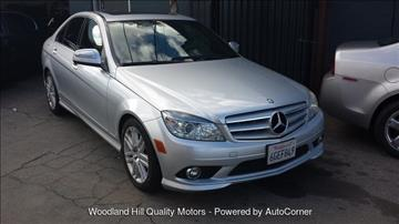 2009 Mercedes-Benz C-Class for sale in Reseda, CA