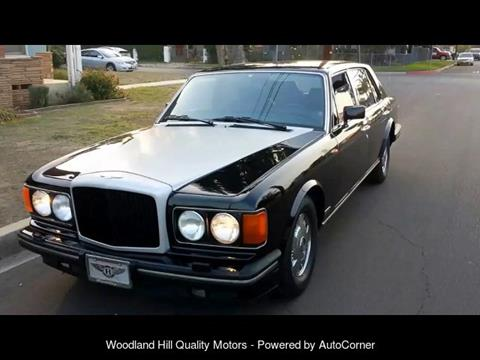 1994 Bentley Brooklands for sale in Reseda, CA