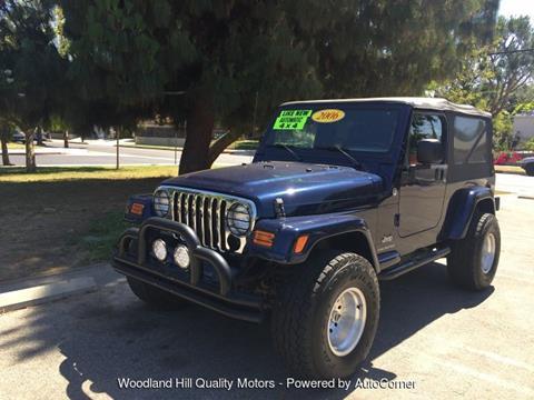 2006 Jeep Wrangler for sale in Reseda, CA
