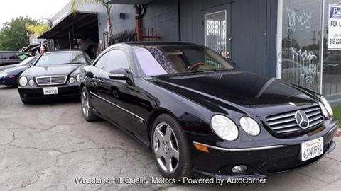 2004 Mercedes-Benz CL-Class for sale in Reseda, CA