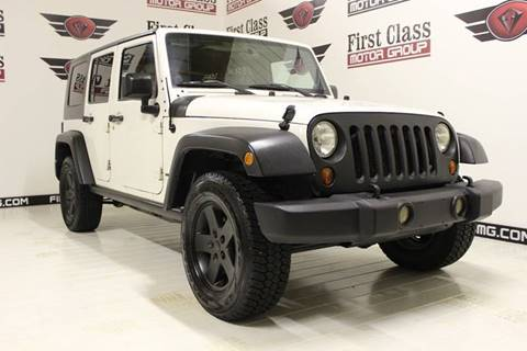 2009 Jeep Wrangler Unlimited for sale in Shorewood, IL