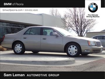 2004 Cadillac DeVille for sale in Peoria, IL
