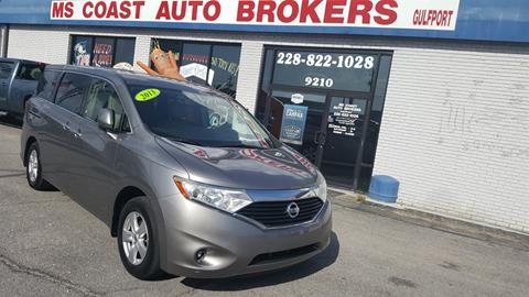 2013 Nissan Quest for sale in Gulfport, MS