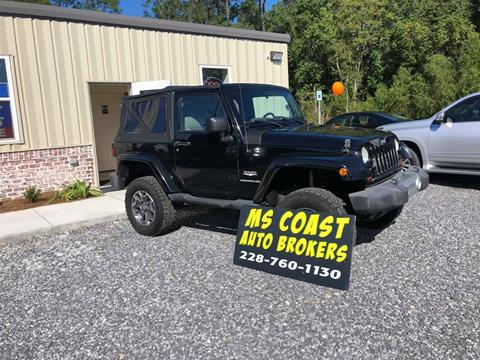 2010 Jeep Wrangler for sale in Gulfport, MS