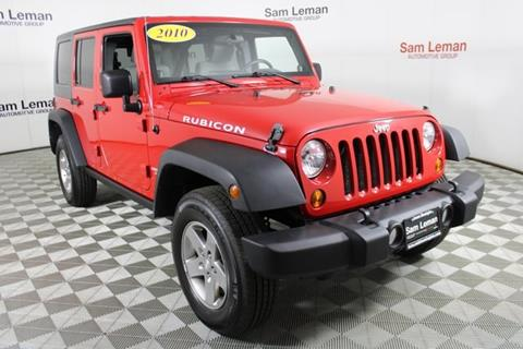 2010 Jeep Wrangler Unlimited for sale in Bloomington, IL
