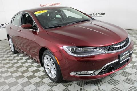 2015 Chrysler 200 for sale in Bloomington, IL