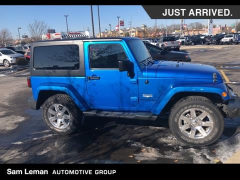 2015 Jeep Wrangler for sale in Bloomington, IL