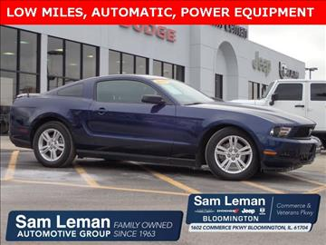 2011 Ford Mustang for sale in Bloomington, IL