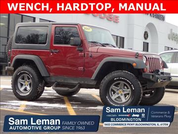 2007 Jeep Wrangler for sale in Bloomington, IL