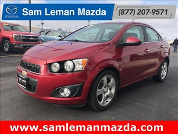 2012 Chevrolet Sonic for sale in Bloomington, IL