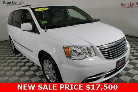 2016 Chrysler Town and Country for sale in Bloomington, IL