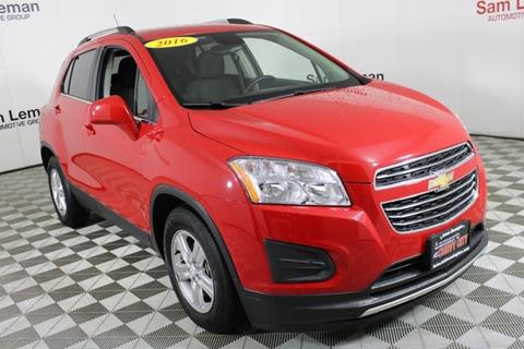 2016 Chevrolet Trax for sale in Bloomington, IL