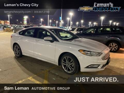 2017 Ford Fusion S for sale at Leman's Chevy City in Bloomington IL