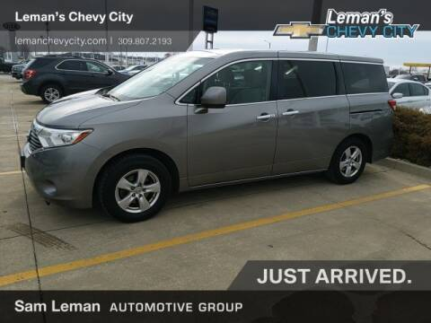 2012 Nissan Quest 3.5 SV for sale at Leman's Chevy City in Bloomington IL