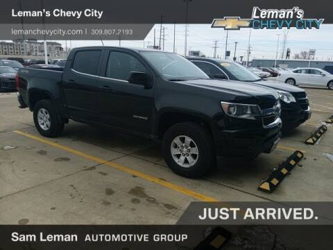 2019 Chevrolet Colorado for sale at Leman's Chevy City in Bloomington IL