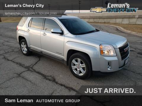 2015 GMC Terrain SLE-2 for sale at Leman's Chevy City in Bloomington IL