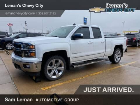 2014 Chevrolet Silverado 1500 LTZ for sale at Leman's Chevy City in Bloomington IL