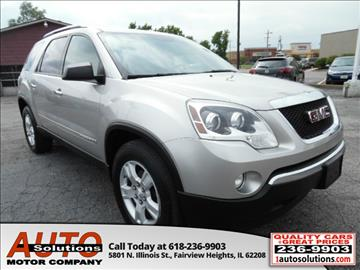 2008 GMC Acadia for sale in O Fallon, IL