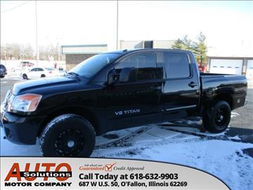 2012 Nissan Titan for sale in O Fallon, IL