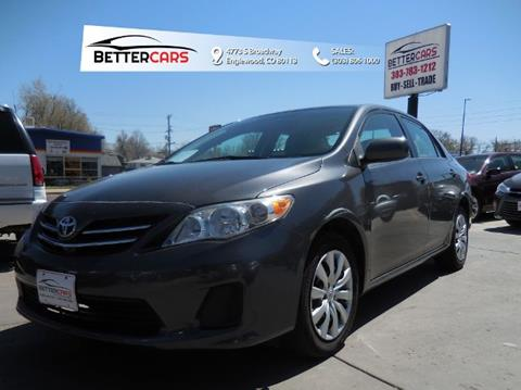 2013 Toyota Corolla for sale in Englewood, CO