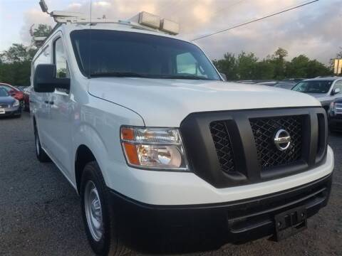 2013 Nissan NV Cargo for sale at M and B Auto Group in Bealeton VA