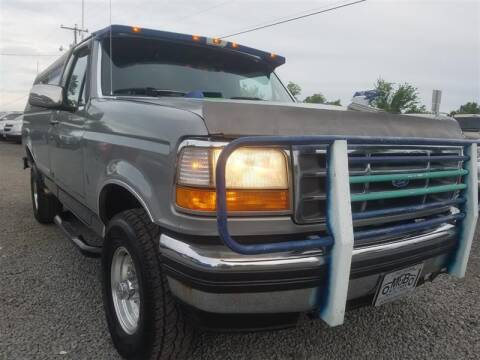 1992 Ford F-150 for sale at M and B Auto Group in Bealeton VA