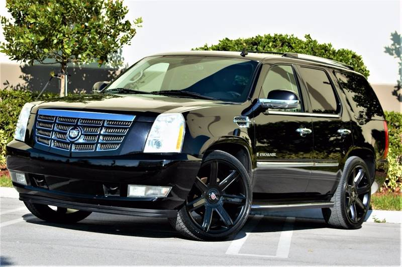 2009 cadillac escalade in hialeah fl northstar auto sales. Black Bedroom Furniture Sets. Home Design Ideas