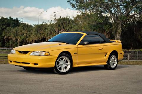 1998 Ford Mustang for sale in Hialeah, FL