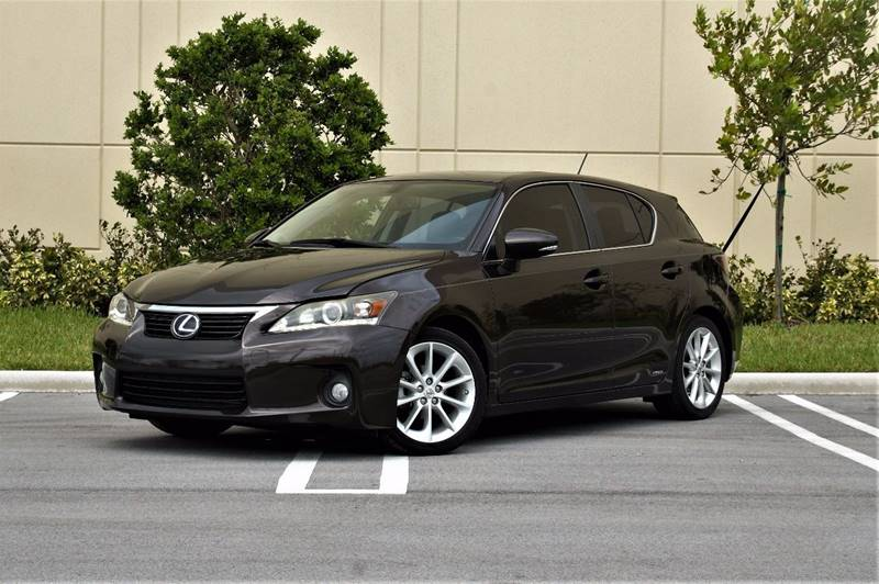 2011 Lexus CT 200h For Sale At Northstar Auto Sales In Hialeah FL