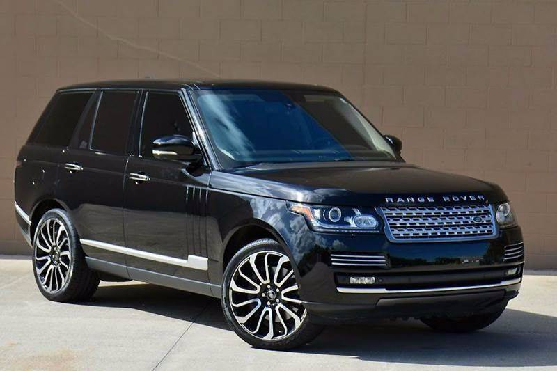 Range Rover Autobiography >> 2014 Land Rover Range Rover Autobiography In Hialeah Fl Northstar