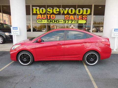 2015 Hyundai Accent for sale in Fairfield, OH