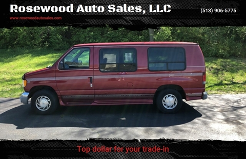 d401ab8125 2001 Ford E-Series Cargo for sale at Rosewood Auto Sales