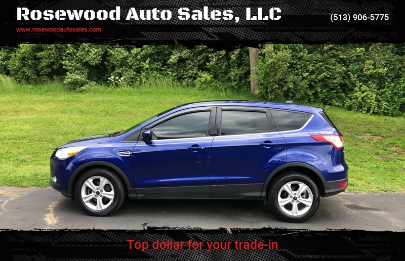 2014 Ford Escape SE 4dr SUV for sale at Rosewood Auto Sales