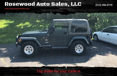 2004 Jeep Wrangler for sale in Hamilton, OH