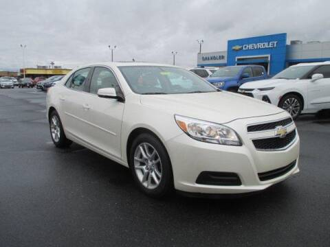 2013 Chevrolet Malibu LT for sale at CHANDLER CHEVROLET in Madison IN