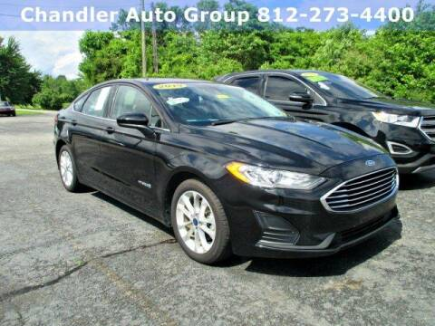 2019 Ford Fusion Hybrid SE for sale at CHANDLER CHEVROLET in Madison IN