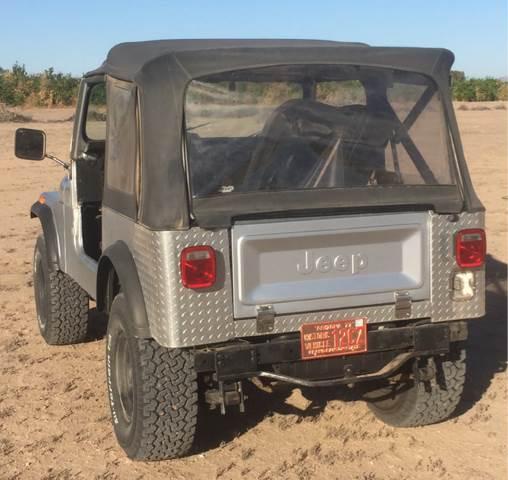1977 Jeep Cj-7 CJ7 In Yuma AZ - FREE 2 U Consignments
