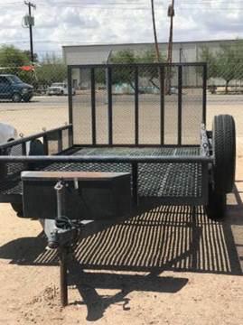 2016 Custom Heavy Duty Flatbed Trailer for sale in Yuma, AZ
