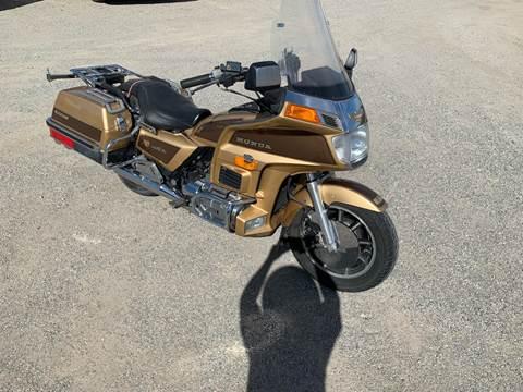 1985 Honda Goldwing For Sale In Yuma, AZ