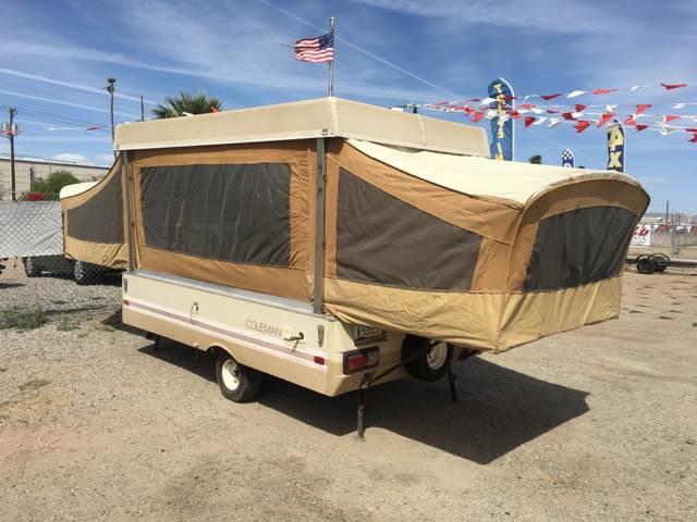 Contact ... & 1982 Coleman Pop Tent In Yuma AZ - FREE 2 U Consignments